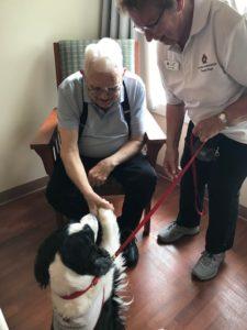 Donald the Dog Guildford Seniors Village
