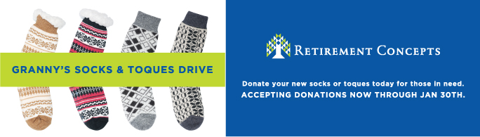 granny's socks and toques drive!