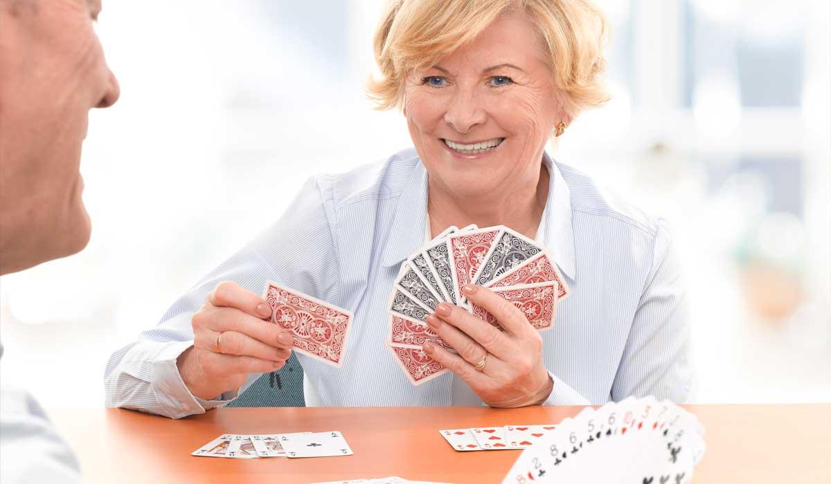 Senior residents at a Retirement Concepts community having fun!